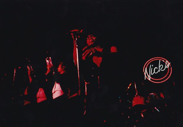 James Brown at Nick's Uptown Dallas 1979
