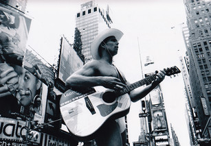 Naked Cowboy - Times Square Ad Council 1980
