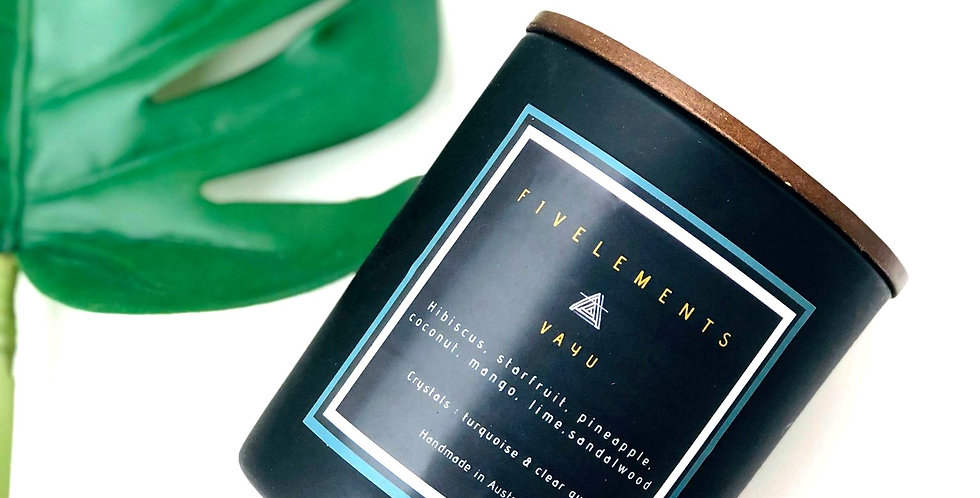 VAYU scented soy candle
