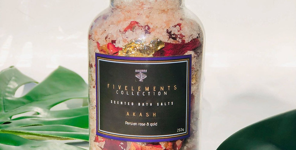 AKASH scented bath salts - Persian rose
