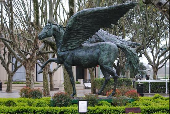 Pegasus, Hipódromo de Palermo, Buenos Aires, Argentina.