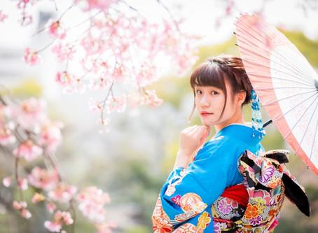 桜咲きましたね