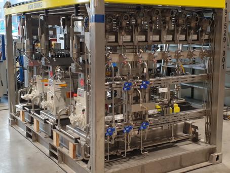 Flotte pumper levert til Cre8 i Stavanger. Hurra!!