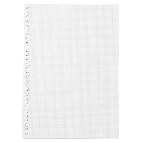 Loose Leaf Paper - A4, 30 Holes (Grid)