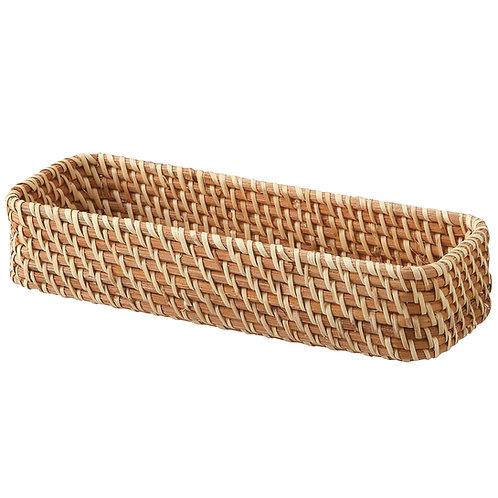 Rattan Basket - Rectangular