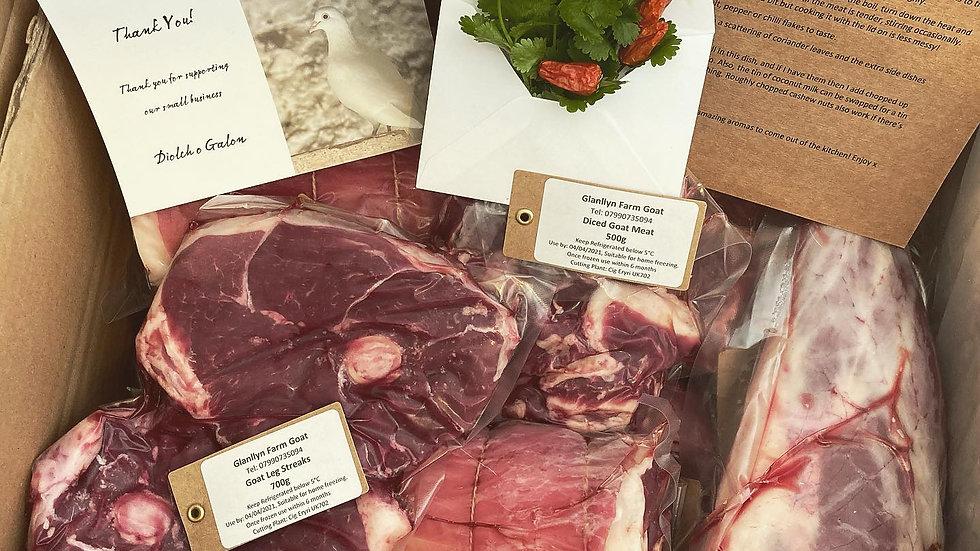 Glanllyn Farm Goat Meat