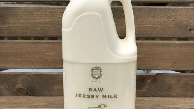 Old Hall Farm Raw Milk