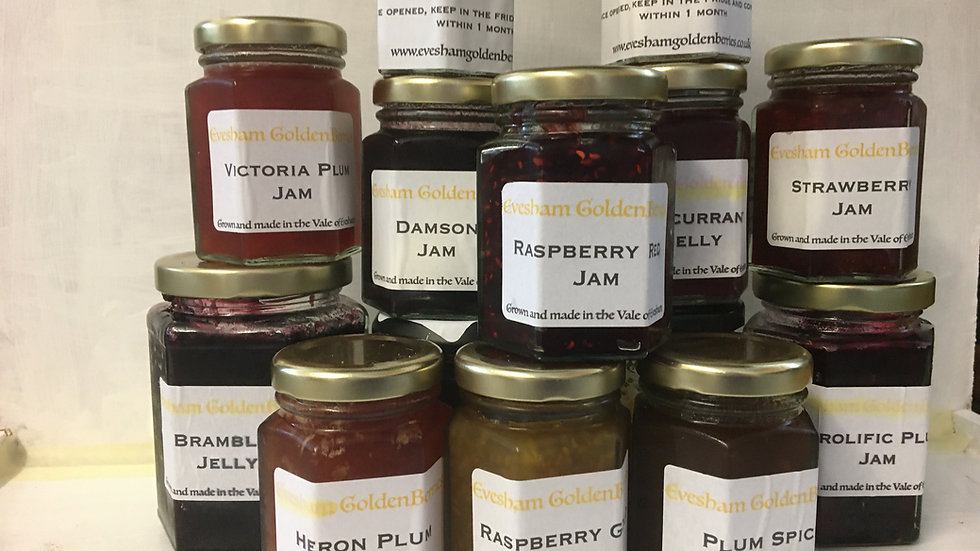 Evesham Golden Berries Jam