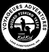 Voyageurs Adventures Logo, Kabetogama Fishing Trips