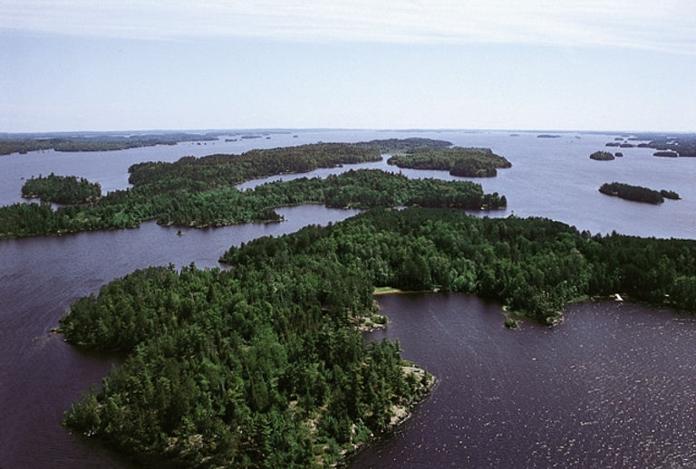 Voyageurs Adventures, Fishing, Voyageurs National Park, Lake Kabetogama