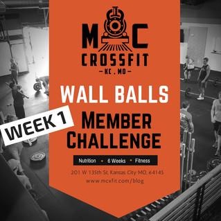 Challenge #1 Wall Balls