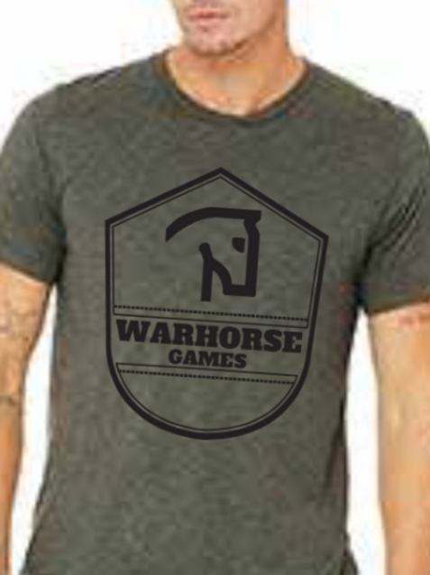 Warhorse Games Shirt *Large logo on chest