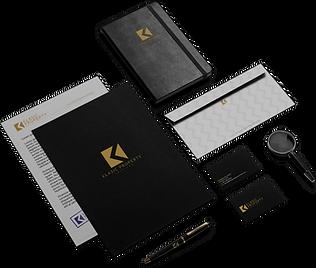Klasic Property Services black tablet mock up