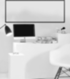 shapeshift home office in white and black