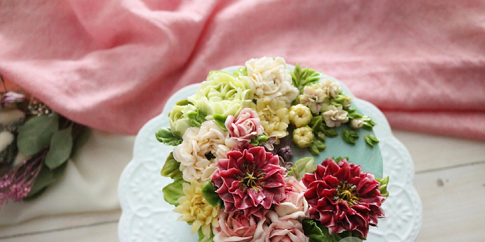 "Atelier ""Mon Gâteau de Fleurs"""