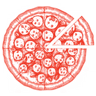 tono's red pizza icon png