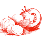 tono's red quality food icon png