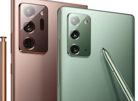 توصيل 430 الف هاتف جالاكسي نوت 20 بالخدمة خلال أسبوع واحد مع نفاد اللون النحاسي