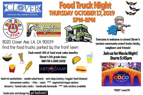 Clover Food Truck Night OCT 2019 web gra
