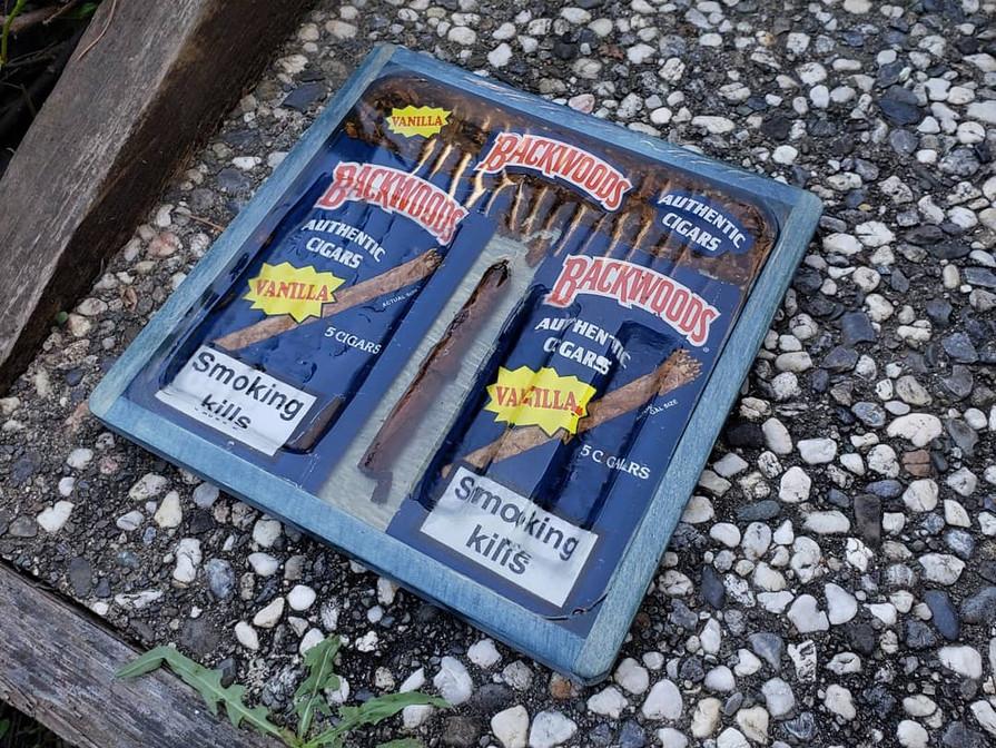 Vanilla Rare Backwoods Rolling Tray