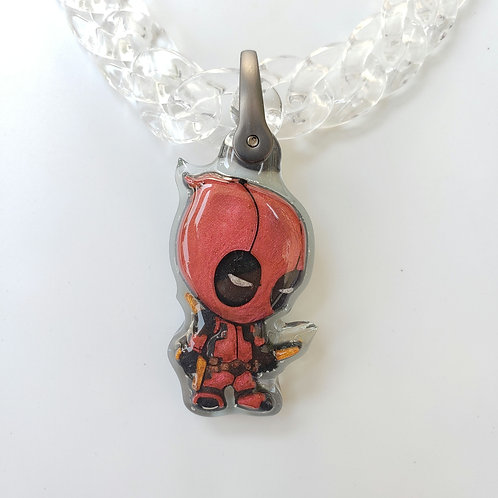 Gold Weapons Deadpool Chain