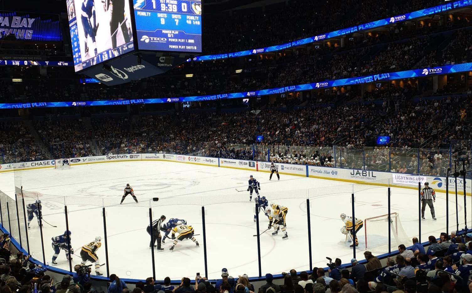 Tampa Bay Lightning x Pittsburgh Penguins