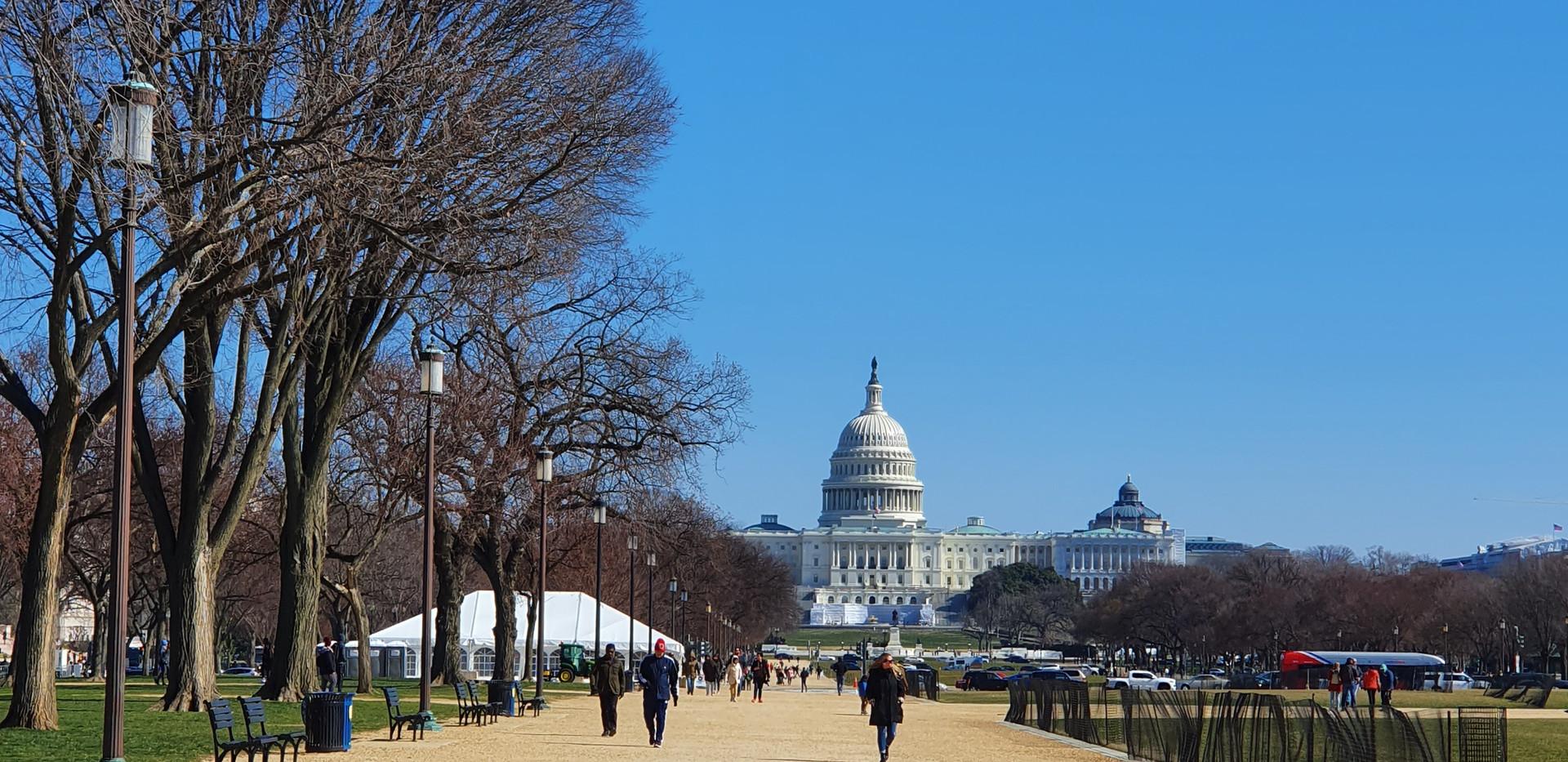 National Mall - Capitólio ao fundo