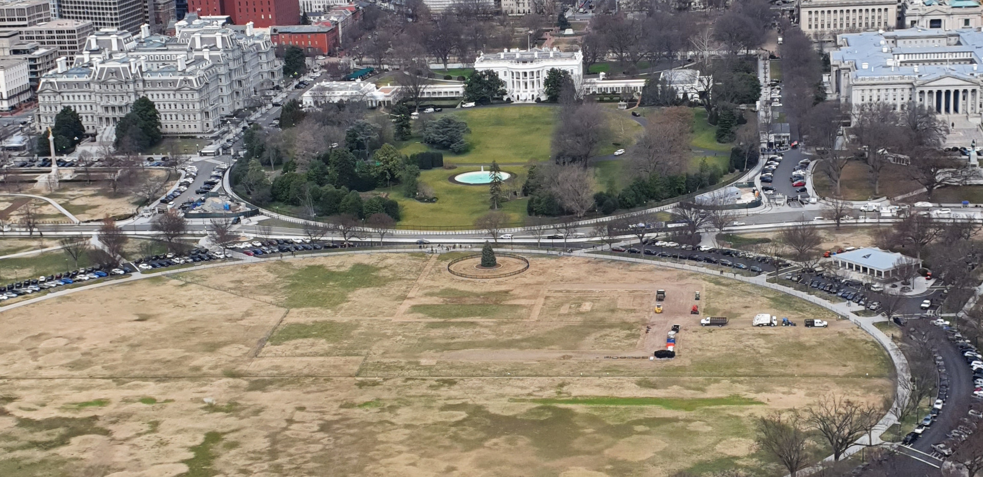 Vista norte - Washington Monument