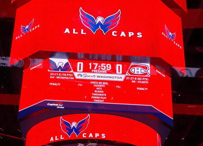 Capitals x Canadiens