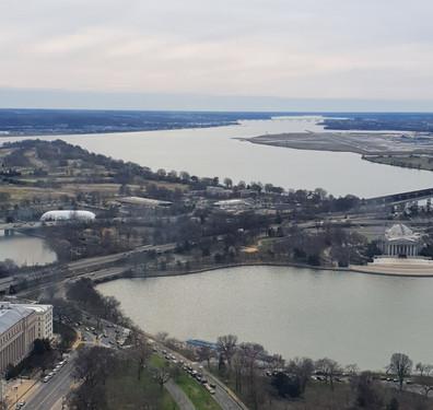 Vista sul - Washington Monument