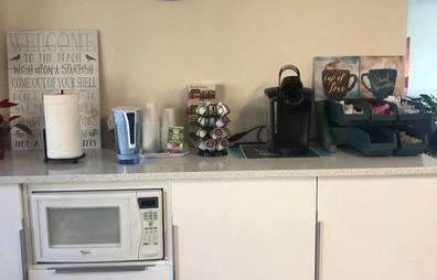 Café no lobby