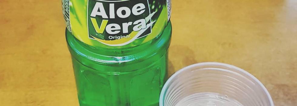 Bebida de aloe vera