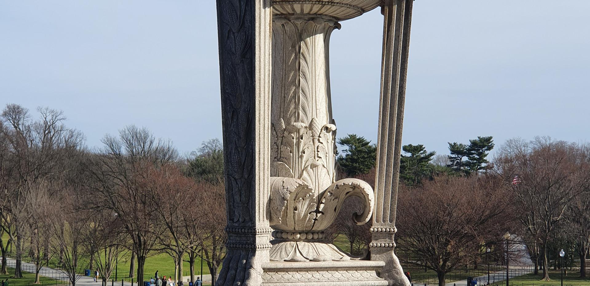 Lincoln Memorial - detalhes