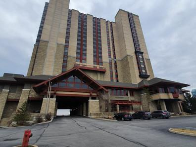 Hotel visto por fora