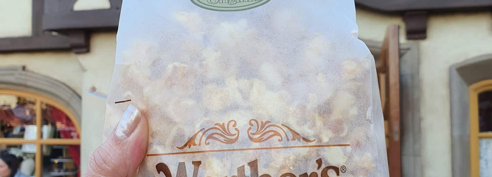 Pipoca de caramelo da Alemanha