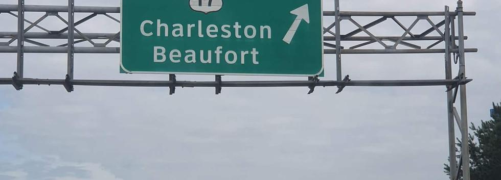 Chegando em Charleston