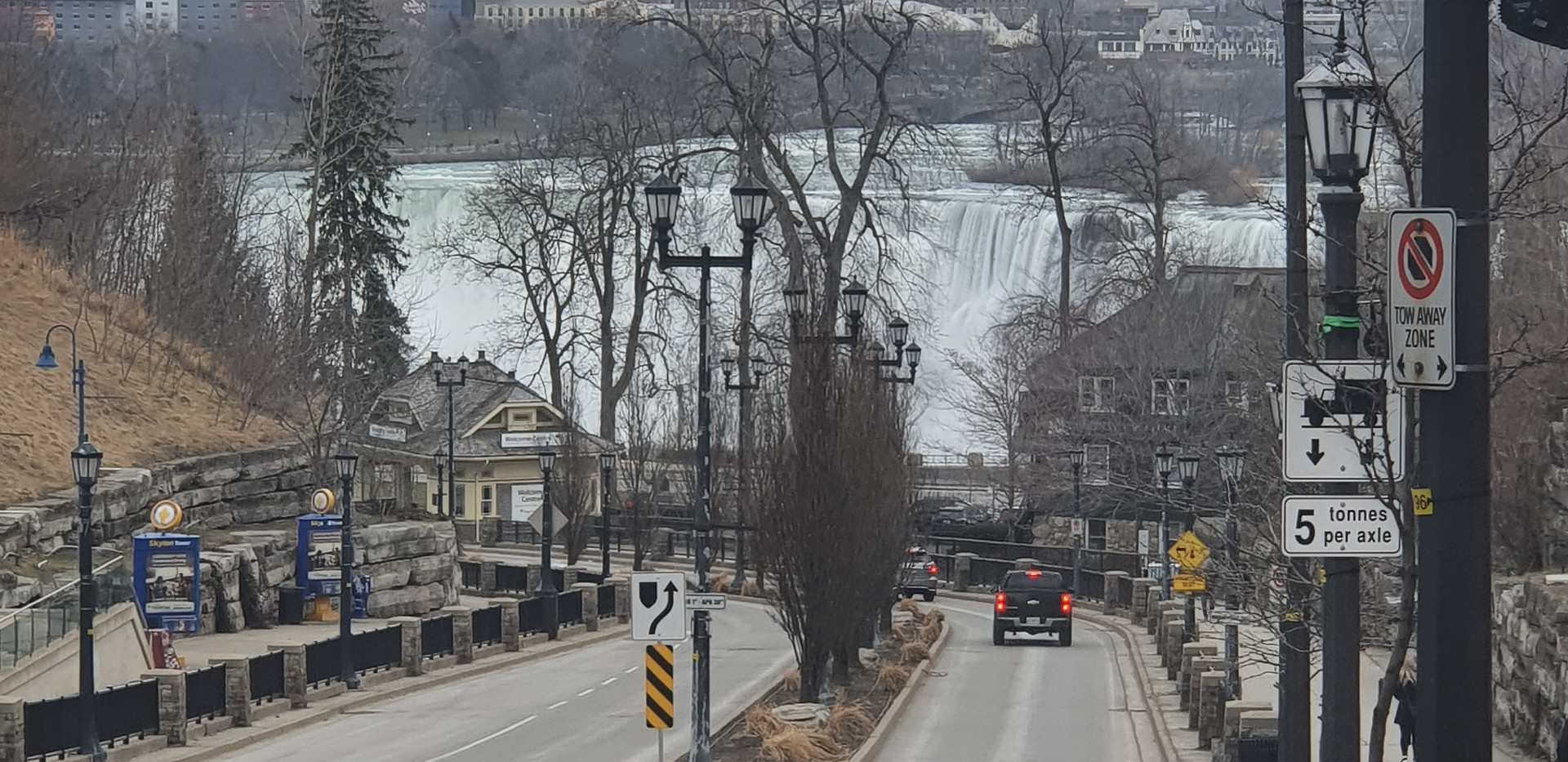 Murray St. - a caminho das cascatas