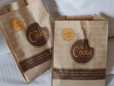 Cookie de boas vindas