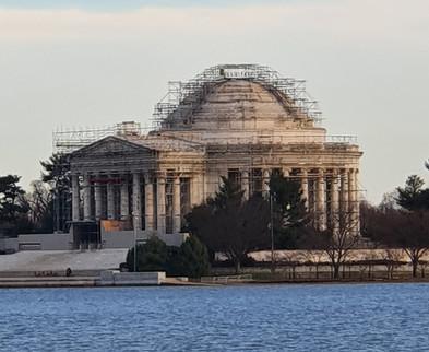 Tidal Basin - Jefferson Memorial ao fundo