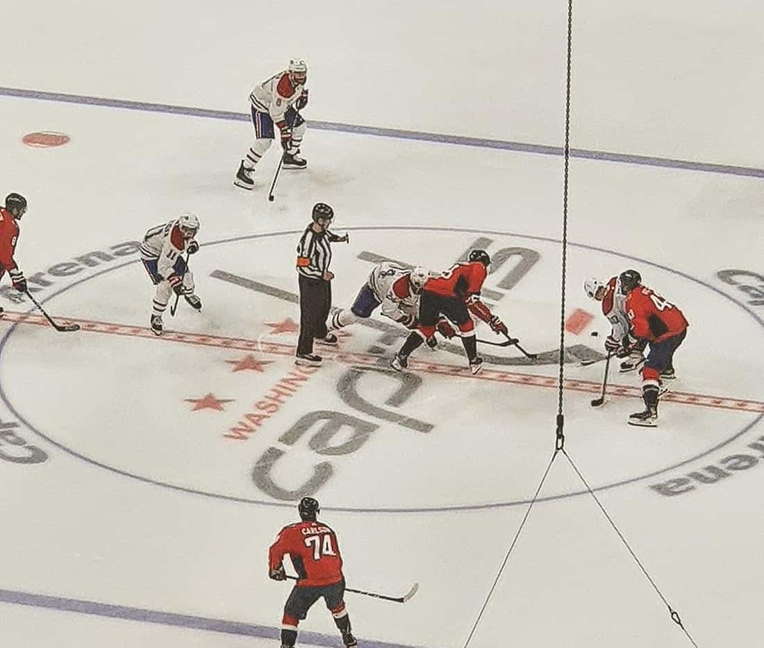 Capitals x Canadiens