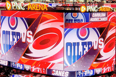 Edmonton Oilers vc Carolina Hurricanes
