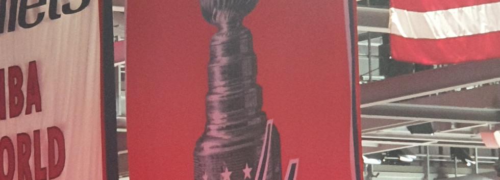 Banner de campeão da Stanley Cup
