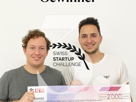 Swiss Startup Challenge 2020: BEEYOND ergattert den 3. Platz