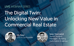 Cohesion's CTO and Co-founder Nik Patel and Senior Product Manager Isaac Townsend discuss how to enable healthy and operationally efficient buildings powered by Cohesion's digital twin.    Digital twin technology is central to an integrated platform. It consolidates comprehensive data across a portfolio to automate building processes, solve complex problems and optimize building operations.    In this webinar, we invited the audience to consider the impact a digital twin has on increasing asset value by connecting building systems, workflows, and people in one solution.    The webinar discusses what digital twins are, why real estate should leverage digital twins, and how AI is leveraged through digital twins to elevate your portfolio.   Visit our YouTube page to learn more: https://www.youtube.com/watch?v=rJKf1xzT-Zo