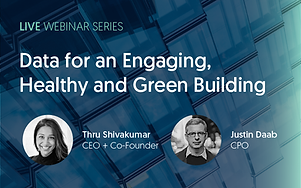"""Cohesion's CEO, Thru Shivakumar, and Justin Daab, Chief Product Officer, discuss the power of leveraging data for elevating building health and sustainability initiatives through autonomous building technology.   Autonomous technology provides more than conveniences for tenants. Smart buildings are the foundational building blocks of smart cities, which are the path to larger health and sustainability initiatives. Reducing emissions is only the beginning; energy consumption can be further optimized through adaptive spaces powered by data and autonomous technology.   In this webinar, they  discuss how integrated platforms empower both macro and microscopic sustainability initiatives, create healthier buildings, and a more engaging human experience.    This webinar addresses how economic incentives are aligning to incentivize healthier, greener buildings, how an integrated platform can support sustainability initiatives and create healthier spaces, and how leveraging data and automation can simultaneously optimize energy consumption and create a more engaging experience through adaptive spaces.   Thru Shivakumar states, """" oThere are 3 fundamental problems that are colliding right now in the market. First is that because of the pandemic, healthy buildings have become a focus for building occupants – this is specifically related to the air they breathe and the surfaces they touch. 2nd is that workplaces need to be flexible to accommodate a hybrid workforce. In a recent study done by PWC, 87% of companies intend to return to the physical office – but in a more hybrid way. That means that buildings will be constantly challenged by the changing needs of the tenants and employees.  And finally the necessity for buildings to play their part in climate change is now. Buildings are Phase 1 of the Climate Accord and need to make concerted efforts to reduce their carbon footprint.""""  To view the full webinar, visit our YouTube page."""