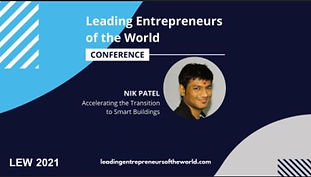 Nik Patel led a presentation at this year's Leading Entrepreneurs Conference.  Leading Entrepreneurs of the World is one of the most comprehensive entrepreneurial platforms and events in the world and features entrepreneurs, founders and business leaders presenting on cutting-edge topics and the latest industry developments.   Nik Patel spoke on the future of autonomous buildings and the impact it'll have on the commercial real estate industry.  By combining data from beacons, card readers, personal devices, air quality sensors, occupancy sensors, HVAC devices, and energy monitors, buildings can contextualize this data to powerful building autonomy. This includes visibility into real-time analytics and insights, automated building controls, demand-driven, and self-optimizing building operations, and balancing healthy building efforts with lower energy consumption.   Watch the panel to learn more: https://www.youtube.com/watch?v=qSTkNRrOM2g&list=PLdG6sjQ9ERntqNUWoleTG-LszcK4hcXJ5&index=64  About Cohesion Founded in 2018, Cohesion helps commercial buildings better integrate disparate systems into a smart building SaaS platform. It empowers real estate owners to maximize asset and portfolio value with all building systems, workflows and people seamlessly connected in one solution. The vertically integrated platform improves health and wellness, experience, efficiency, and sustainability. Cohesion provides the industry's most comprehensive data, enabling operators to enhance tenant experience, save money, and increase operational transparency. Cohesion is a spin-off venture of ESD, a leading Chicago-based global engineering design firm at the forefront of next generation building design. For more information, visit cohesionIB.com and follow @CohesionIB.