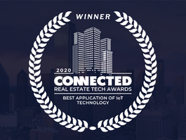 Cohesion Wins Connected Real Estate Tech Award for Best Application of IoT Technology for Buildings