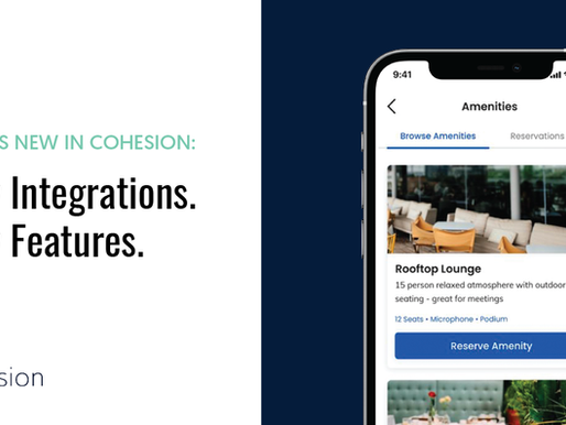 What's New In Cohesion for September: New Integrations. New Features.