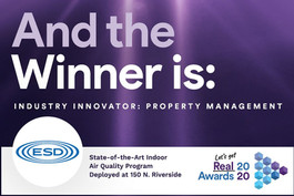 Cohesion's Customer, 150 North Riverside, is winner of the 2020 Innovation Award for Property Management