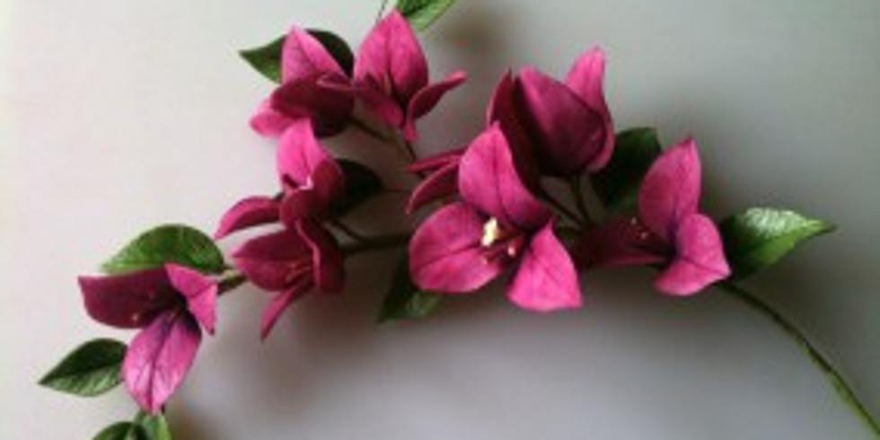 Atelier fleurs en porcelaine froide ou en sucre